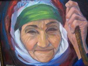yasli kadin - Yaşlı Kadın