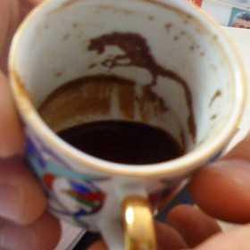 kahve fali 4 - Atlı