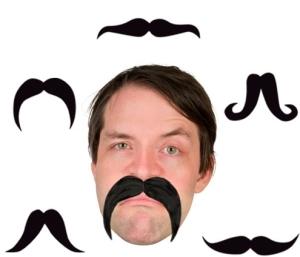 mustache takma biyik 300x257 - Bıyık