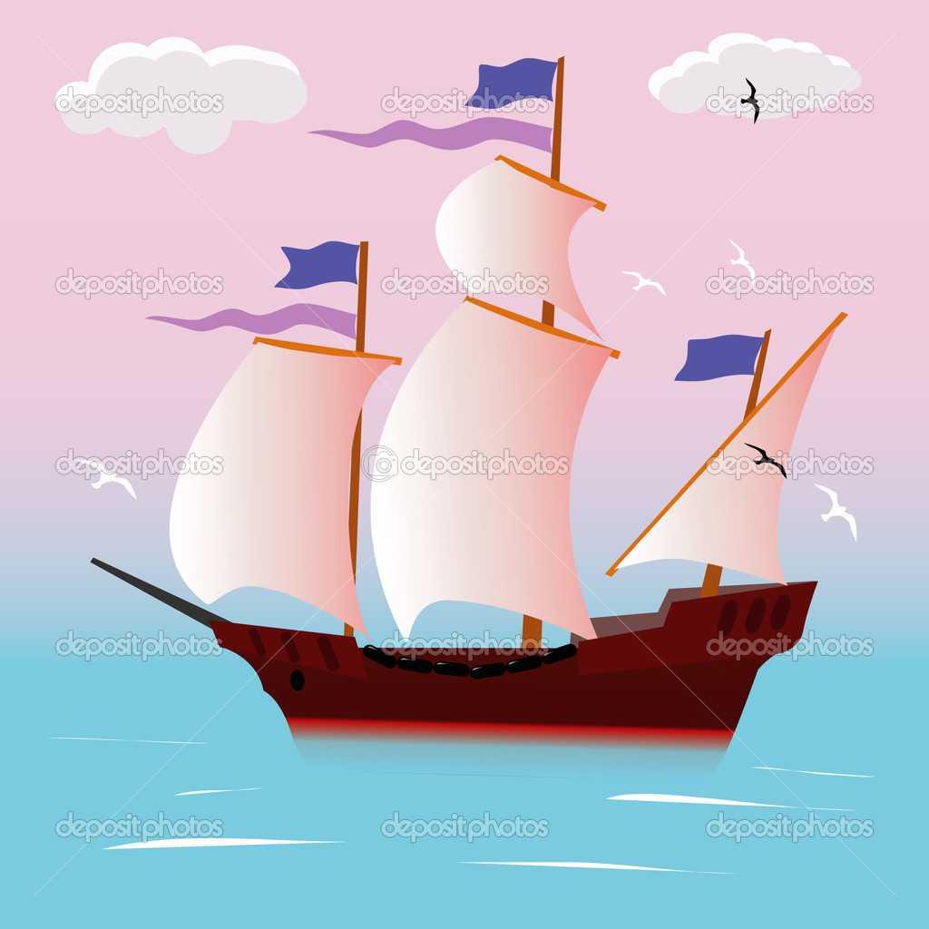 depositphotos 1719720 Sailing vessel - Yelken