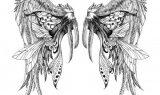 kanat dovme modelleri ebdc49 160x95 - Kuş Kanadı