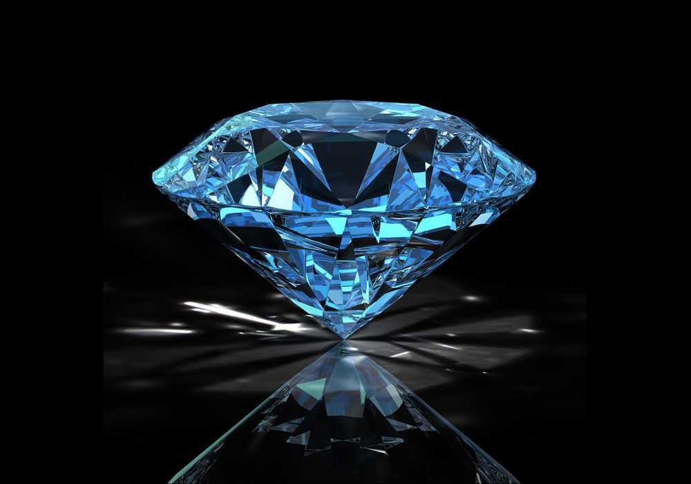 mavi elmas bulundu - Elmas
