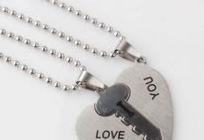 Sıcak Hediye 1 Çift l Aşk Size Eşleşti Kalp Anahtar Şekil Kolye Kolye Erkekler Kadınlar için.jpg 640x640 225x155 - Kalpli Anahtar