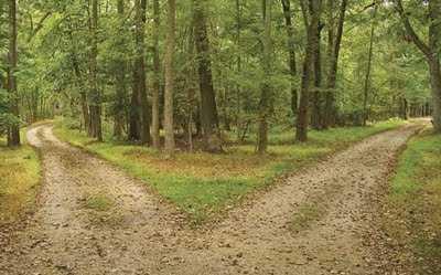 falda birleşen yollar görmek - Yolların Birleşmesi