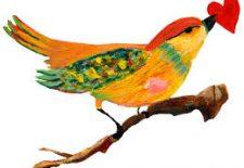 falda kuşun ağzında kalp görmek 225x155 - Kuşun Ağzında Kalp