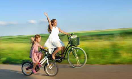 kahve falinda bisiklete binmek - Bisiklete Binmek