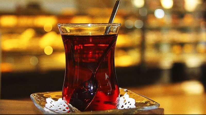 kahve falinda cay bardagi gormek - Çay Bardağı