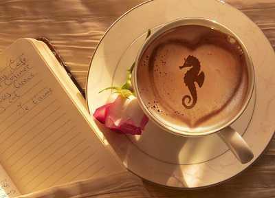 kahve falinda deniz atina binmek - Deniz Atına Binmek