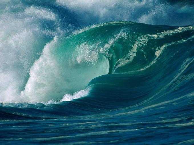 kahve falinda deniz dalgasi gormek - Deniz Dalgası