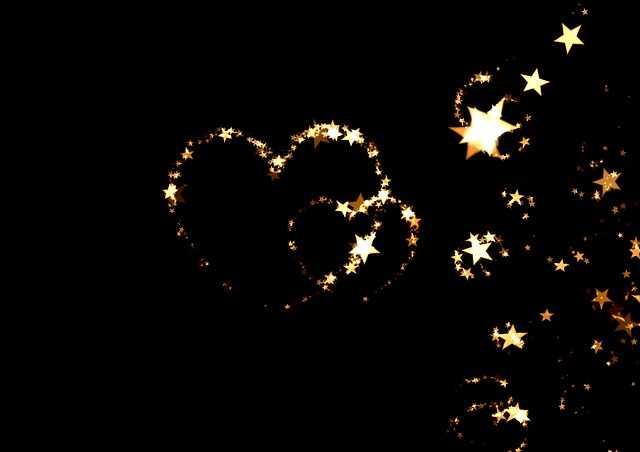 kahve falinda kalp ve yildiz gormek - Kalp ve Yıldız