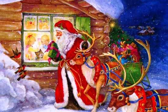 kahve falinda noel baba gormek - Noel Baba