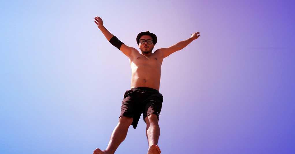 kahve falinda ziplayan adam gormek - Zıplayan Adam