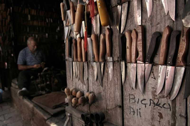 Bıçakçı - Rüyada bıçakçı görmek