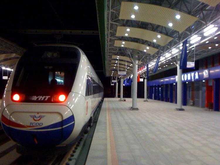 b konya yuksek hizli tren gari 2321 - Rüyada gar görmek