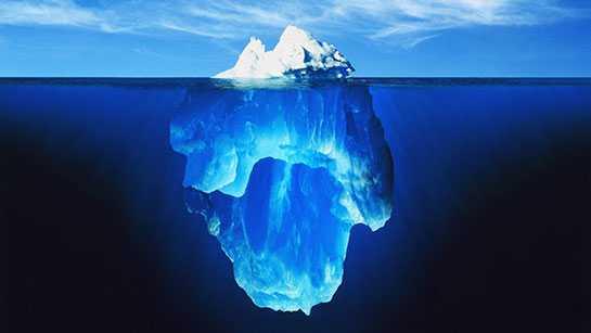 buz dagi 1 - Rüyada buzdağı görmek